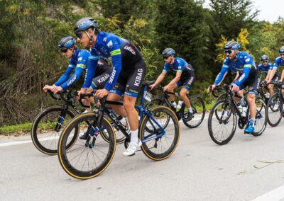 OBOR Swiss Cycling Team members group